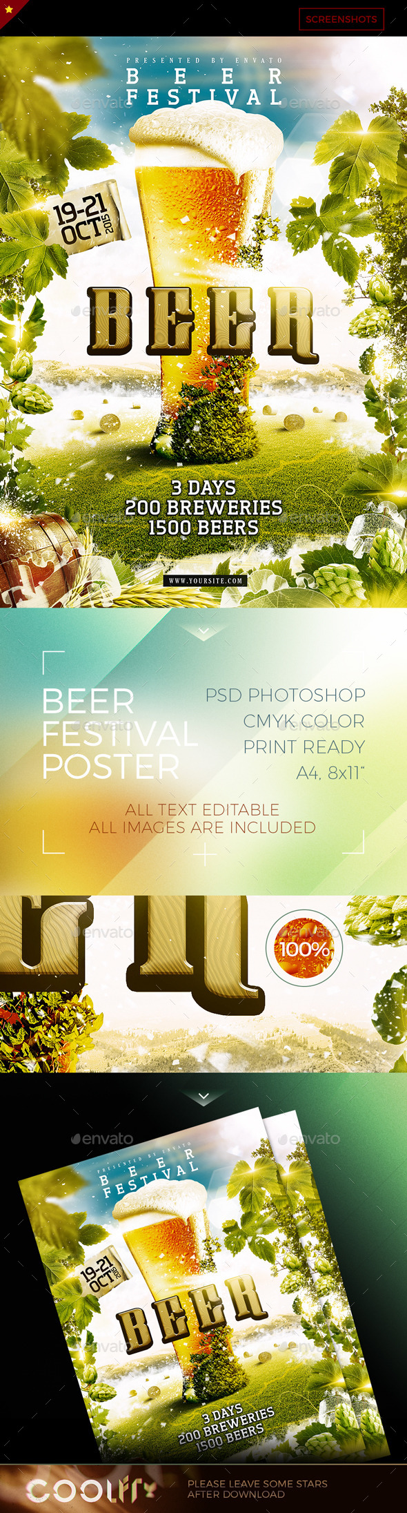 Beer Festival Poster - Holidays Events