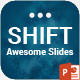 Shift PowerPoint Presentation Template - GraphicRiver Item for Sale