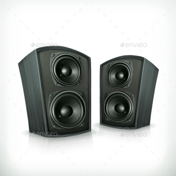 Acoustic Audio Speakers