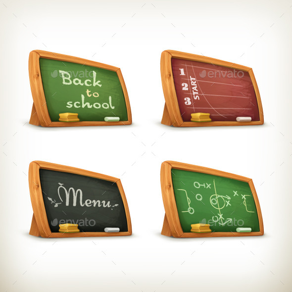 Chalkboards Illustration - Man-made Objects Objects