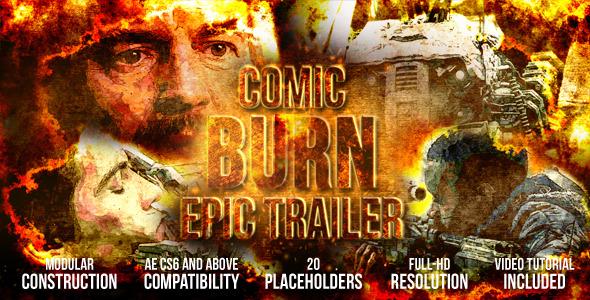 Comic Burn Epic Trailer