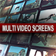 Multi Video Screens - VideoHive Item for Sale