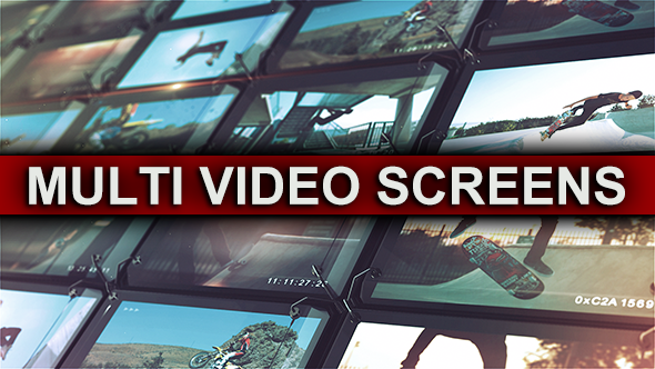 Multi Video Screens