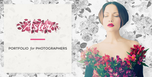 Aster – Photography Theme