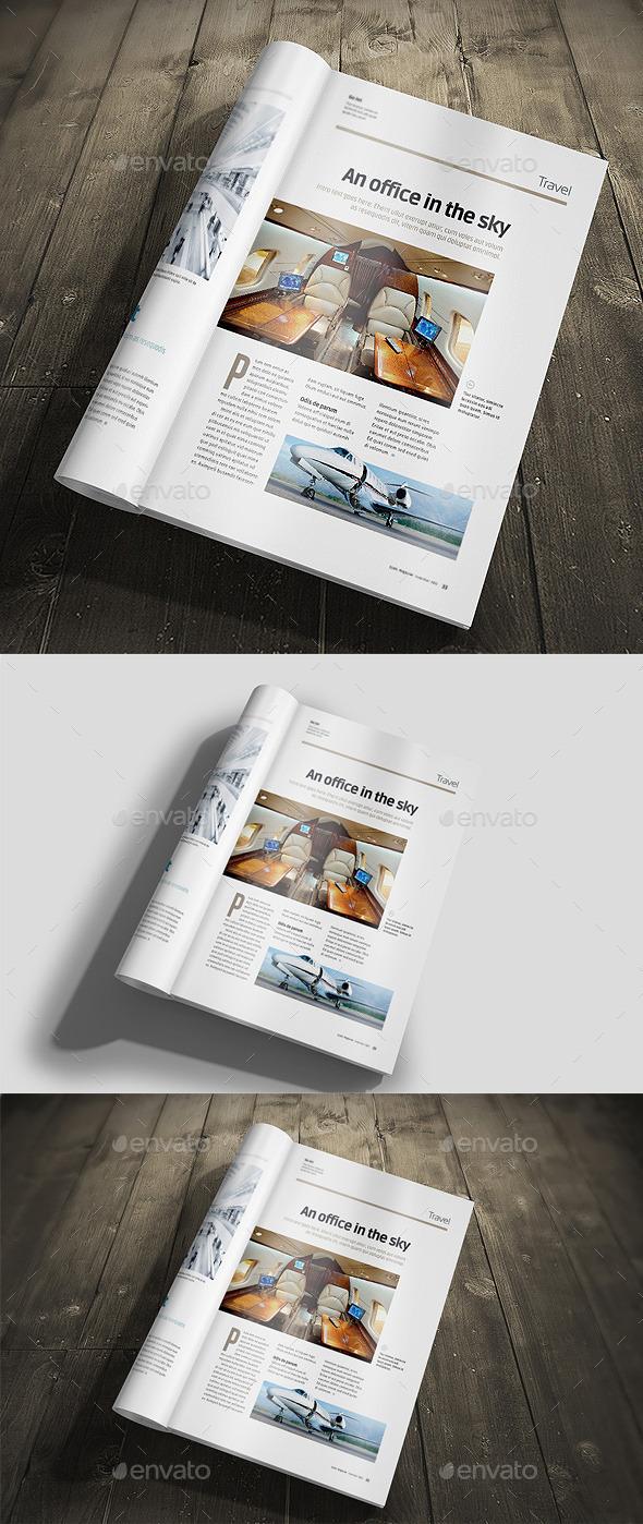 A4 Brochure Mock-Up Vol 1 - Brochures Print