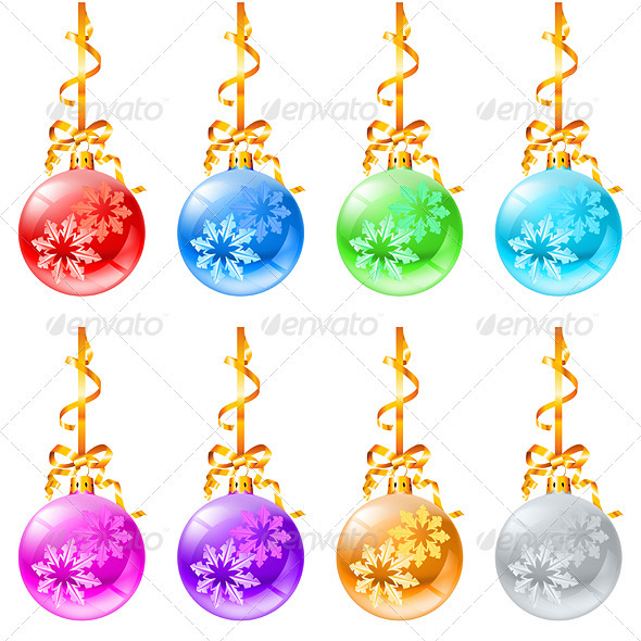 New Christmas decorations - Characters Vectors