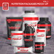 Nutrition Supplement Packages Mock-Up - GraphicRiver Item for Sale