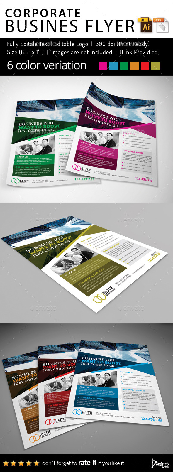 Multipurpose Business Flyer 56 - Corporate Flyers