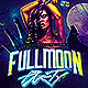 Full Moon Party Flyer  - GraphicRiver Item for Sale