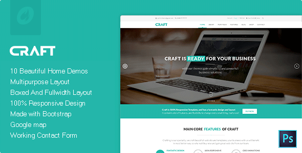 Craft | Multi-Purpose HTML Template