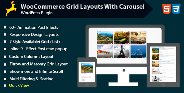 Woocommerce Grid Layout with Carousel - CodeCanyon Item for Sale