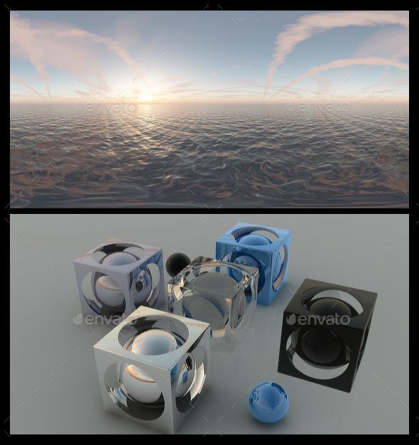 Ocean Dawn 6 HDRI