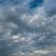 Storm Clouds Moving In The Blue Sky. - VideoHive Item for Sale