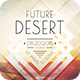 Future Desert Flyer - GraphicRiver Item for Sale