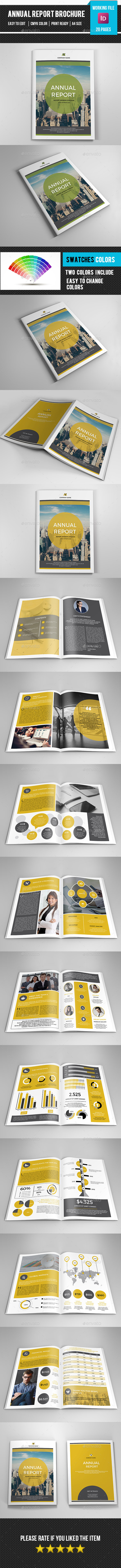 Annual Report Brochure Template-V303 - Corporate Brochures