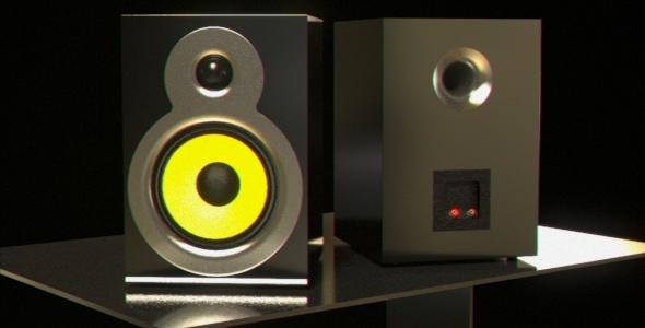 Hi-Fi Speaker - 3DOcean Item for Sale