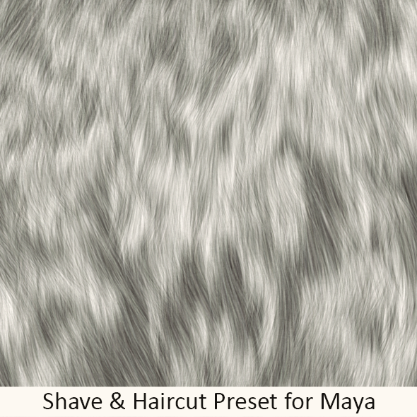 Shave Soft Dog Fur - 3DOcean Item for Sale