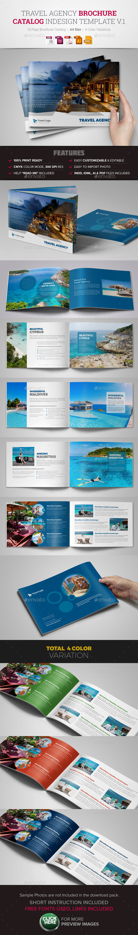 Travel Agency Brochure Catalog - Corporate Brochures