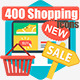 400 Shopping and E-Commerce - GraphicRiver Item for Sale