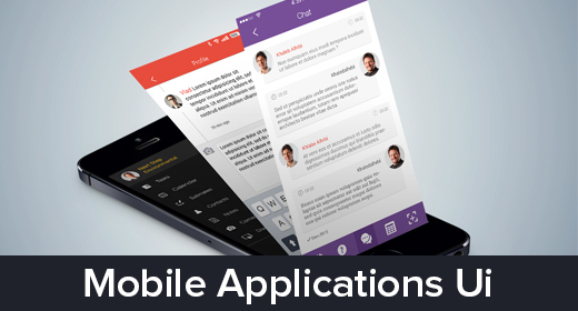 Mobile Application UI Design