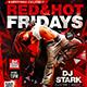 Red&Hot Fridays Flyer Konnekt