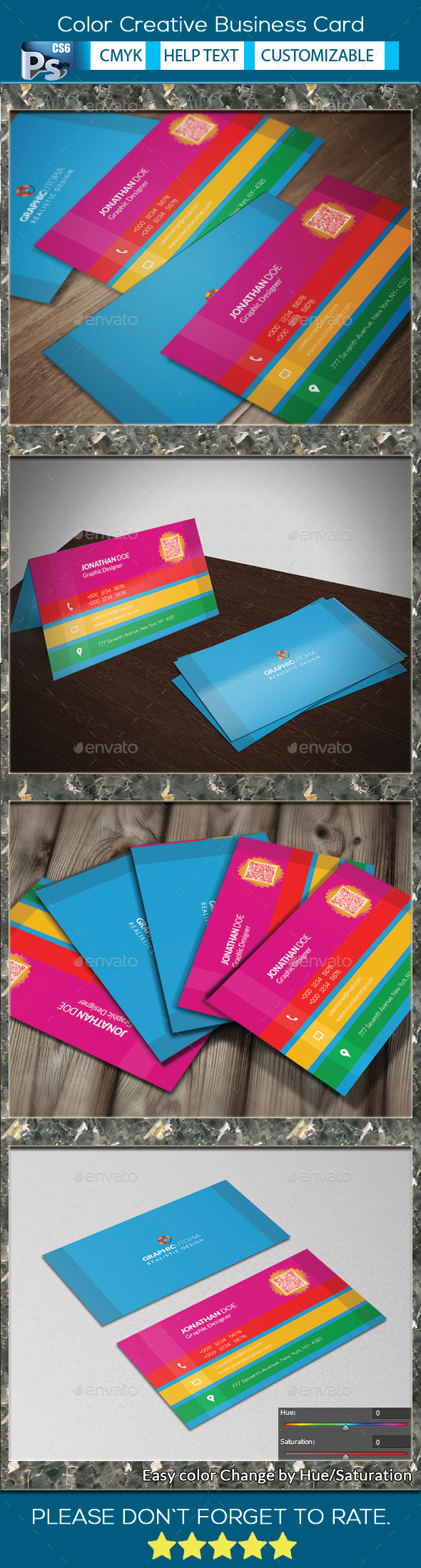 Color Creative Business Card