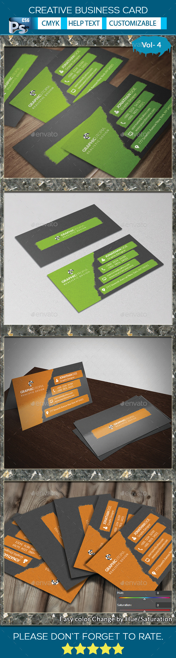 Creative Business Card vol-4