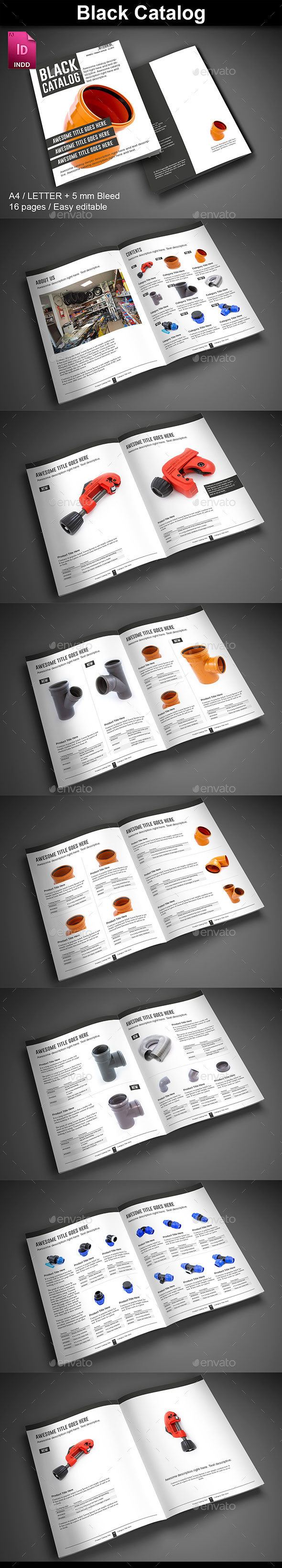Black Catalog - Catalogs Brochures
