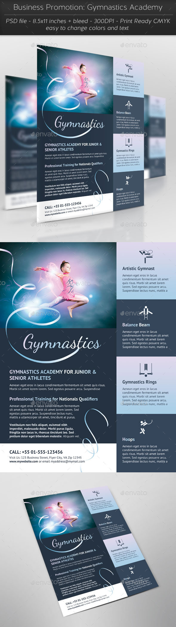 Business Promotion: Gymnastics Academy - Miscellaneous Events