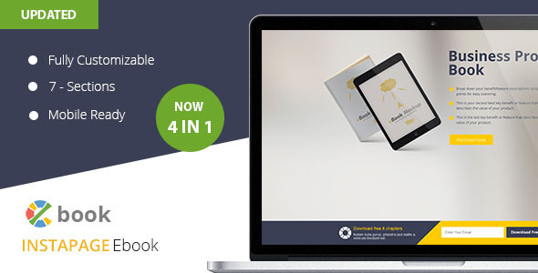 Ebook Instapage Landing Page Template  - Instapage Marketing