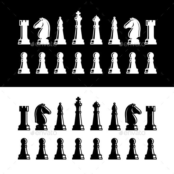 Chess Pieces - Miscellaneous Conceptual