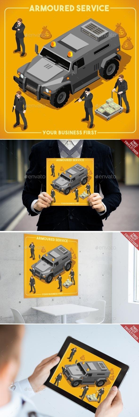 Armoured 02 Vehicle Isometric - People Characters