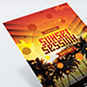 Sunset Session - Flyer Template - GraphicRiver Item for Sale
