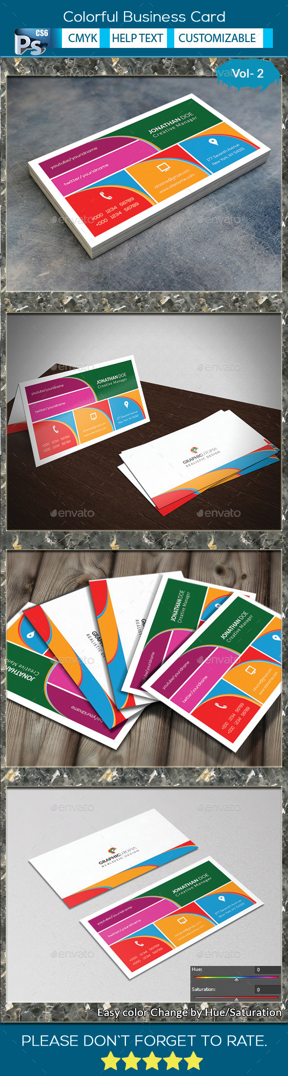 Colorful Business Card V.2