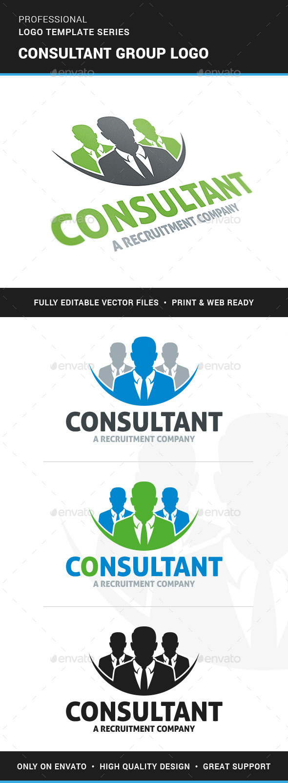 Consultant Group Logo Template