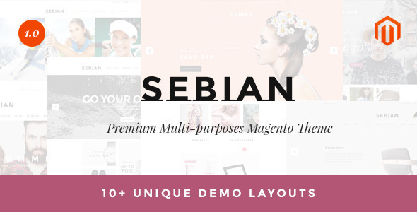 Sebian Super Multipurpose Responsive Shopify Theme