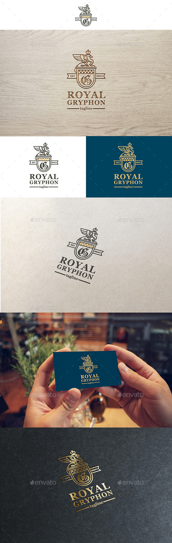 Royal Gryphon Logo