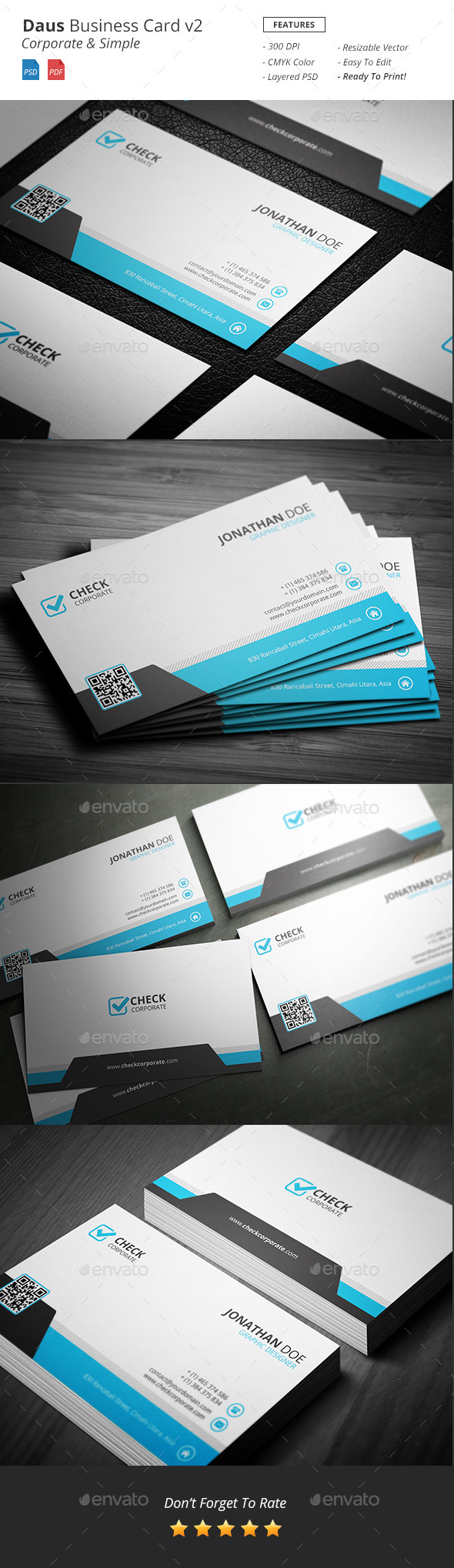 Daus Corporate Business Card v2