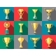Trophy Icons. Winner Cup - GraphicRiver Item for Sale