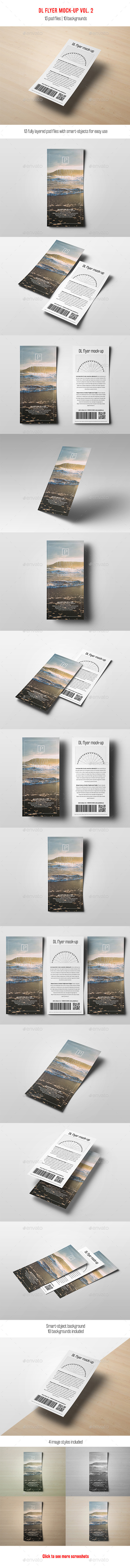 DL Flyer Mock-Up vol. 2 - Flyers Print