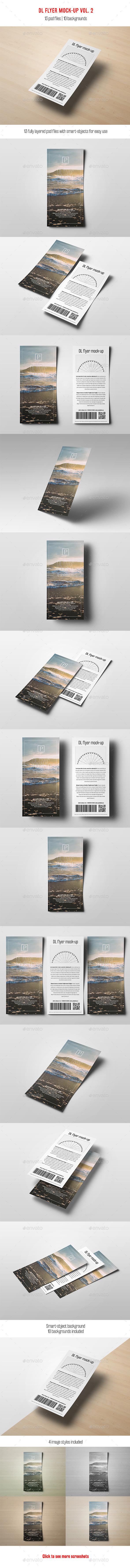 DL Flyer Mock-Up vol 2