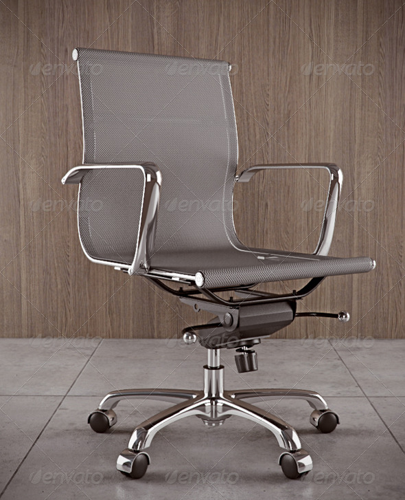 Espia Office Chair - 3DOcean Item for Sale