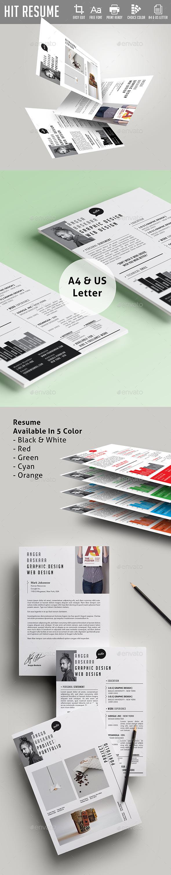 Hit Resume - Resumes Stationery