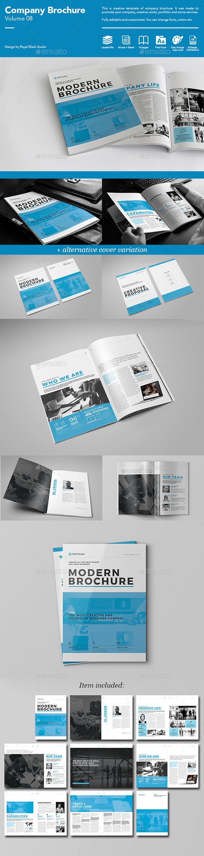 Company Brochure Vol.8 - Corporate Brochures