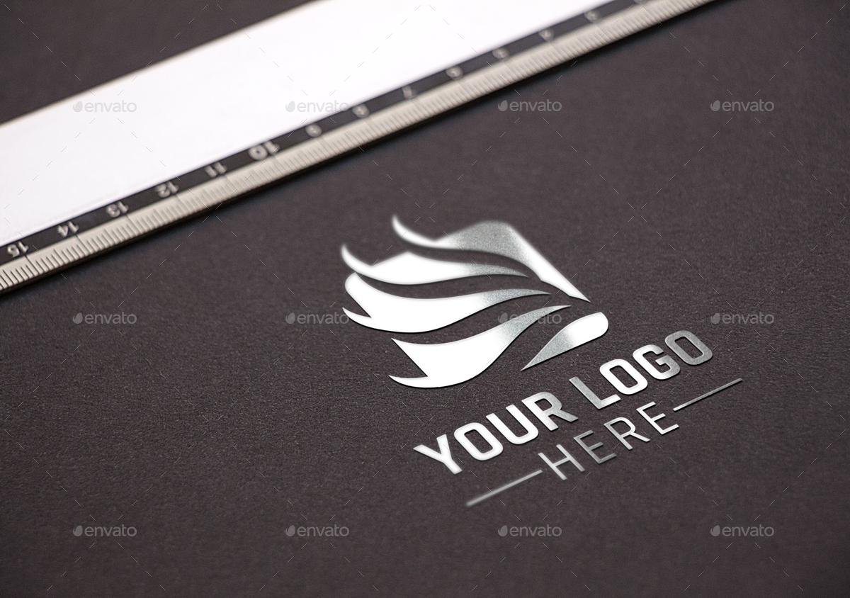 graphicriver - photo realistic logo mockups