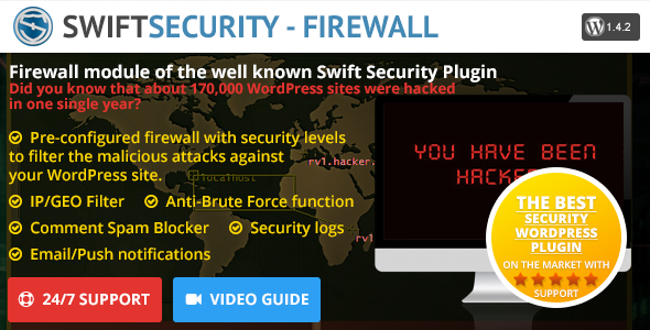 Swift Security - Firewall - CodeCanyon Item for Sale