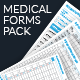 Medical Forms Pack - GraphicRiver Item for Sale