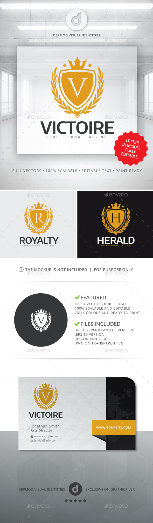 Victoire Logo - Crests Logo Templates