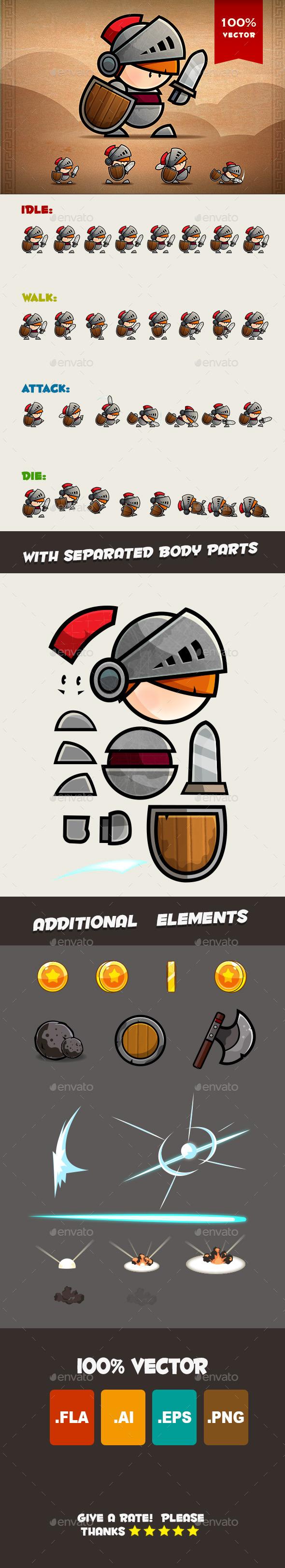 Knight Spritesheets