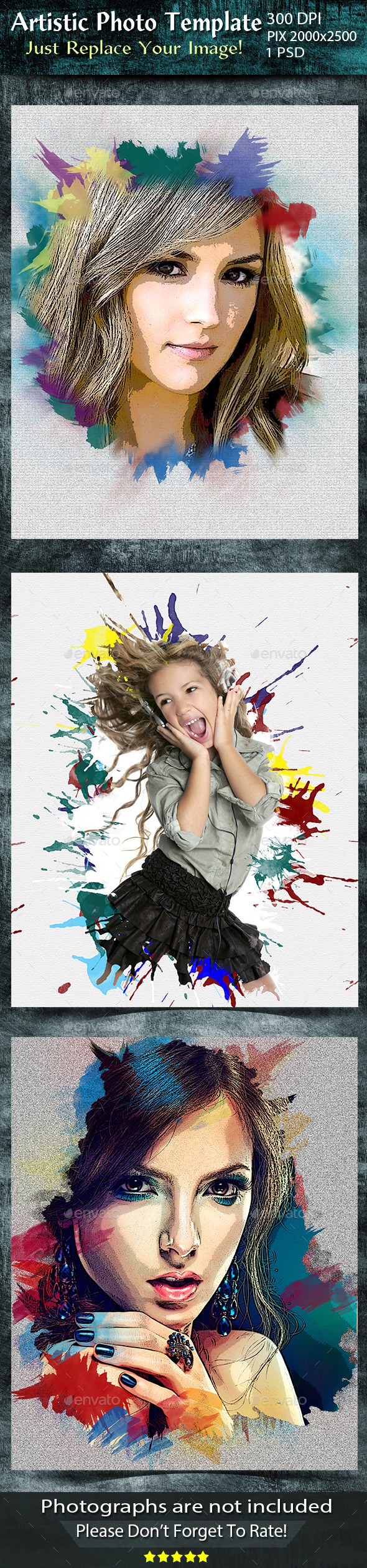 Artistic Photo Manipulation - Artistic Photo Templates